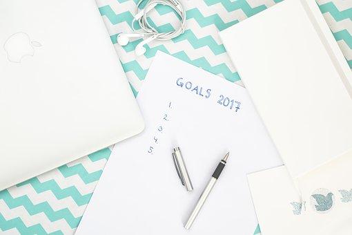 Ziele sollte man schriftlich formulieren