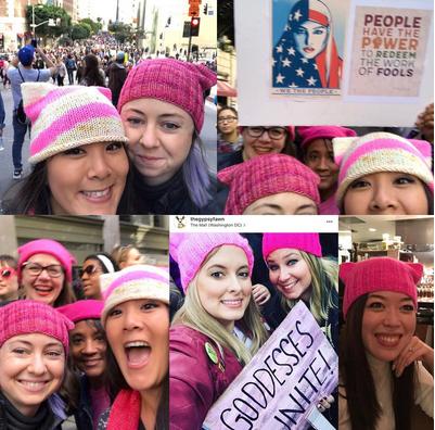 Pussy Hats, seit Trumps Wahl zum US-Präsidenten zum Symbol für eine neue Frauenbewegung geworden