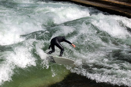 Resilienz: Du kannst die Wellen nicht aufhalten, aber Du kannst lernen, sie zu reiten.