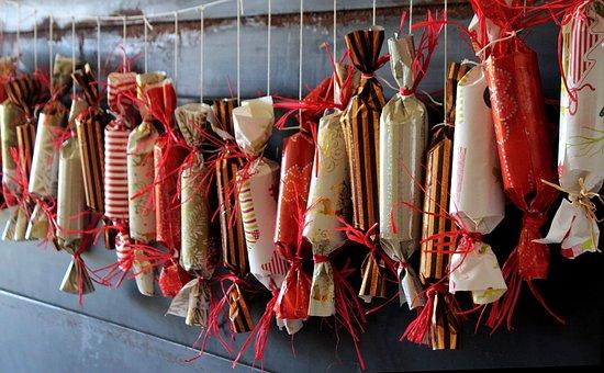 4×24 Geschenke für den Adventskalender für Mitarbeiter